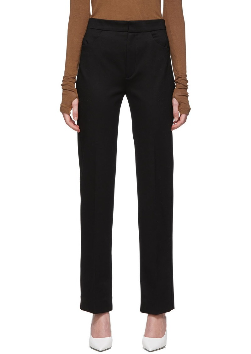Totême Black Troia Trousers