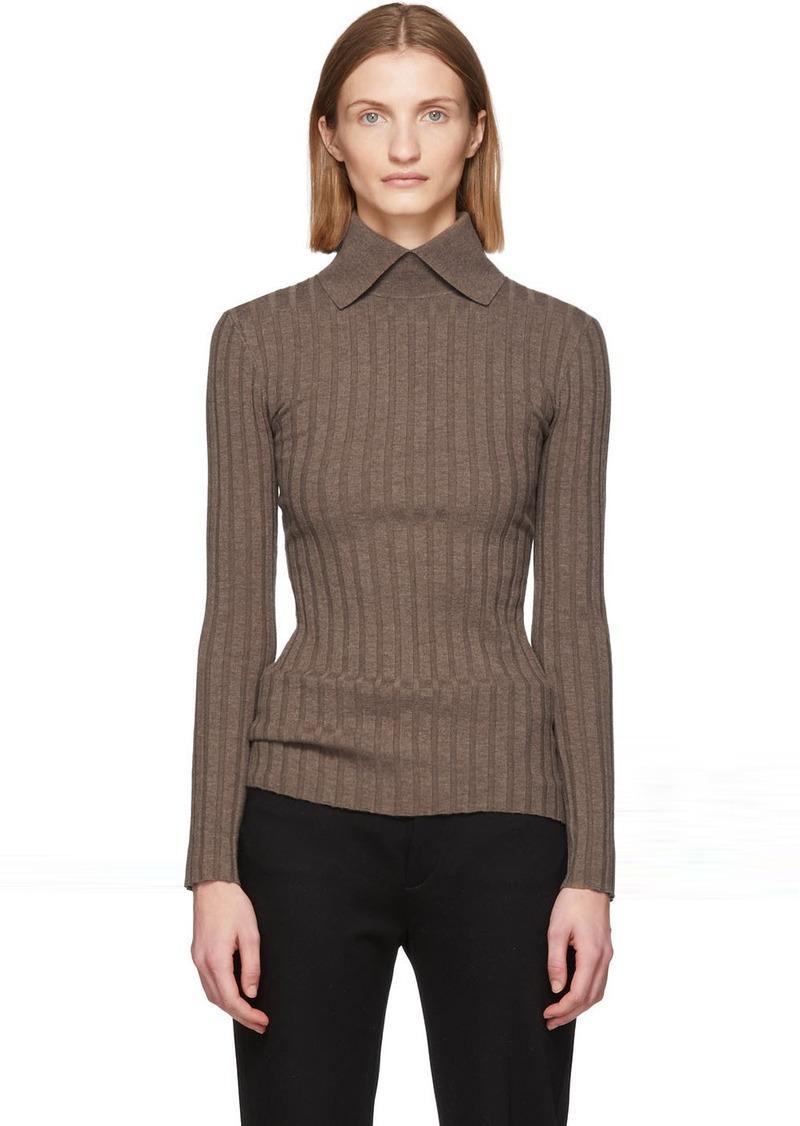 Totême Brown Aviles Sweater
