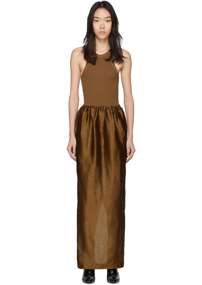 Totême Brown Nonza Dress