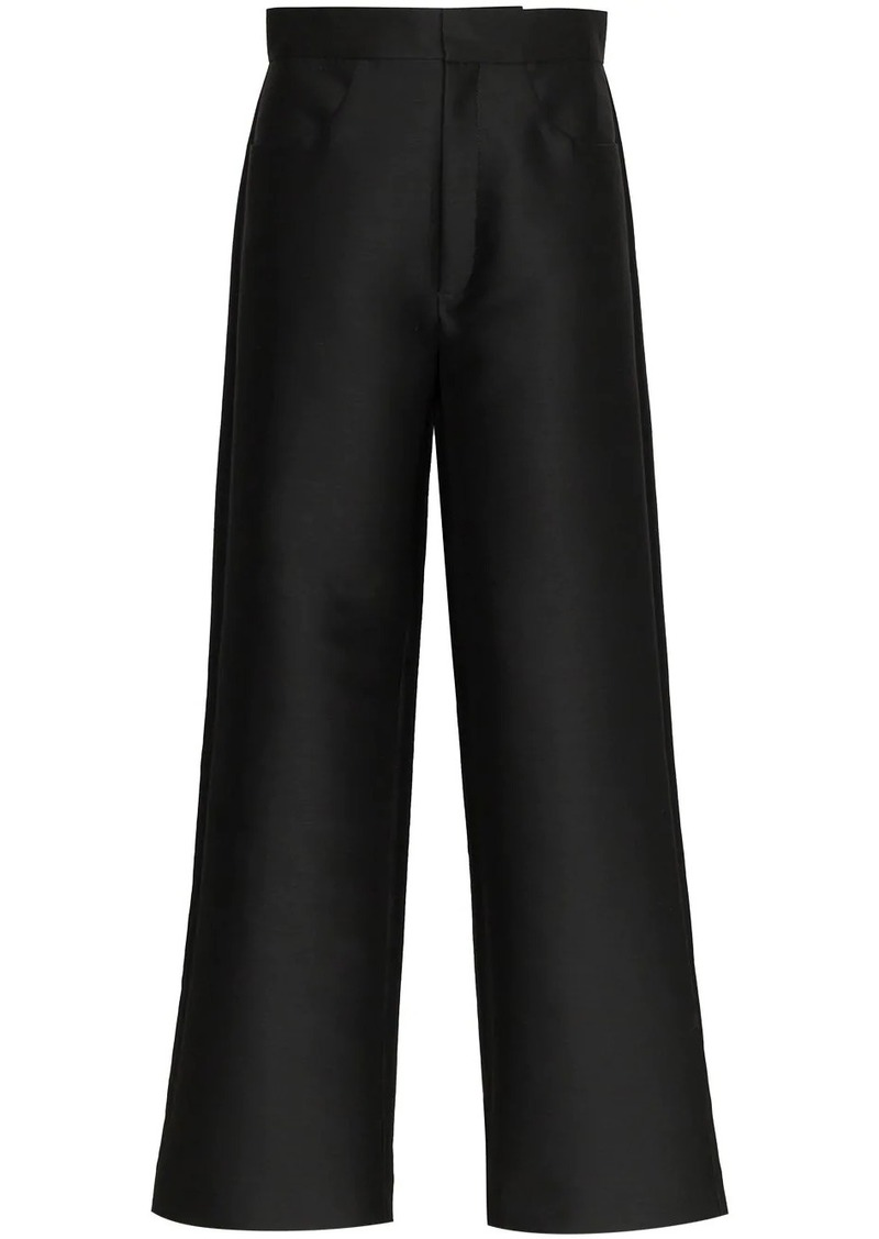Totême high rise tailored trousers