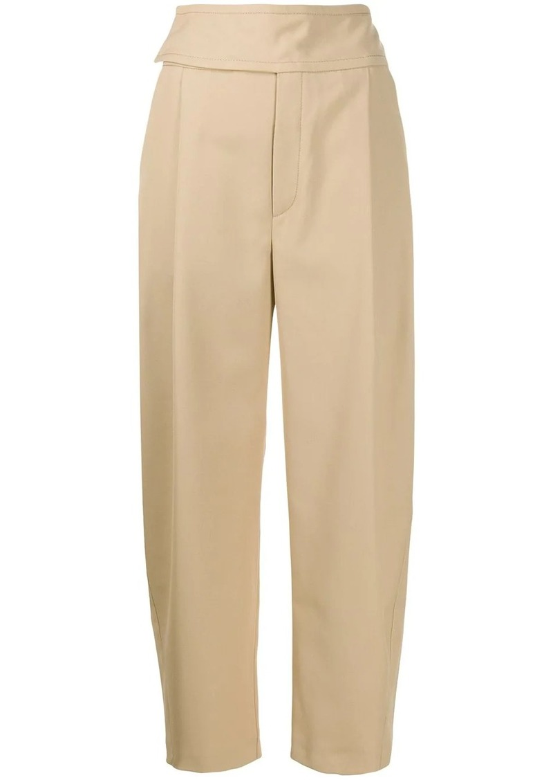 Totême high-rise tailored trousers