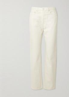 Totême Mid-rise Straight-leg Denim Jeans