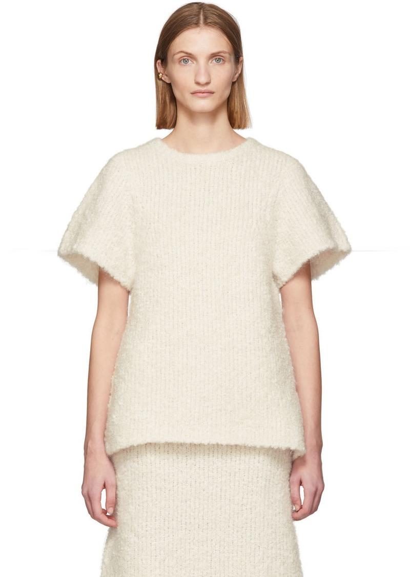 Totême Off-White Mohair Bouclé Espera Sweater