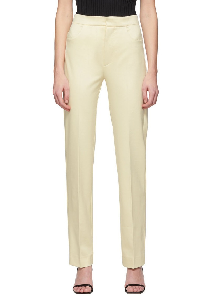 Totême Off-White Troia Trousers