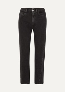 Totême Cropped Mid-rise Straight-leg Jeans