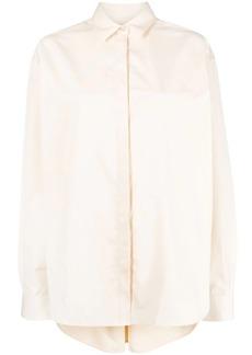 Totême oversized collared shirt