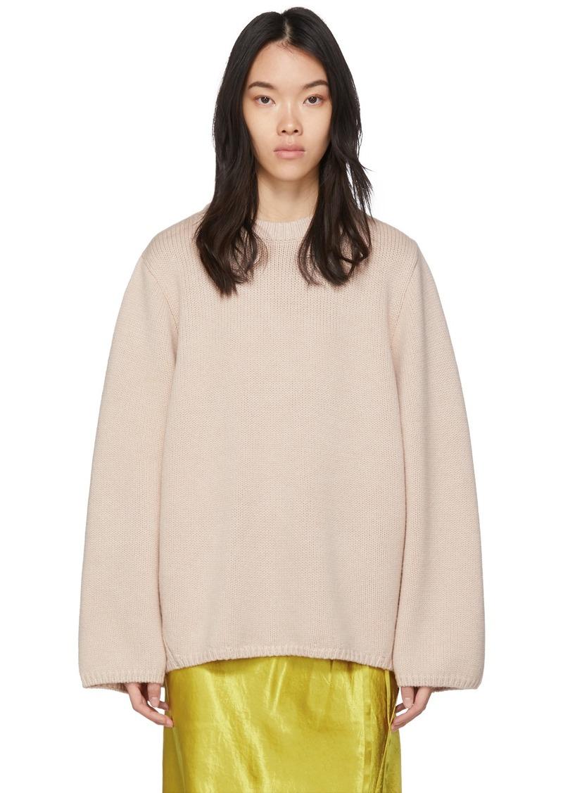 Totême Pink Marans Sweater