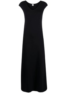 Totême scoop-neck maxi dress