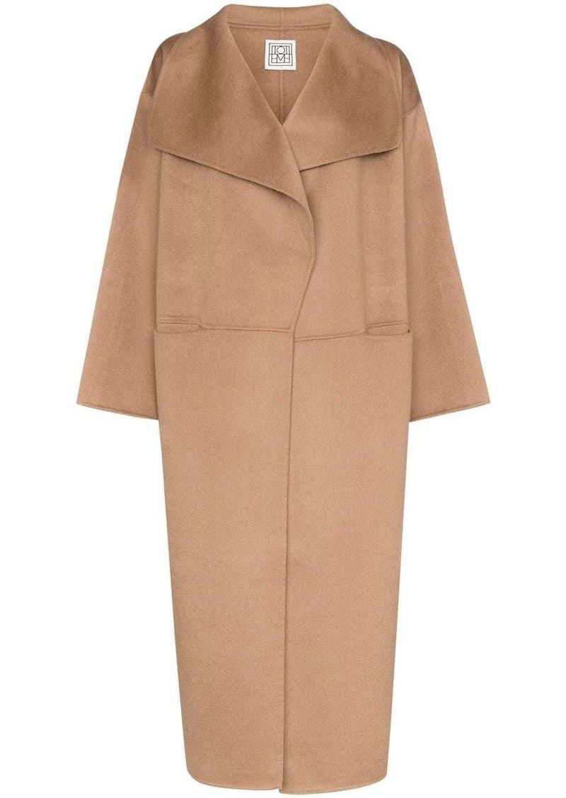Totême soft-knit overcoat