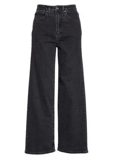 Totême High Waist Flare Leg Jeans