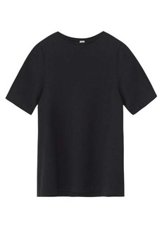 Totême Curved-seam jersey T-shirt