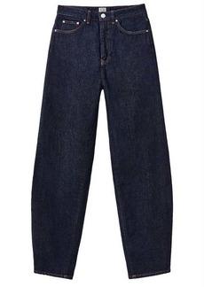 Totême High-rise barrel-leg jeans