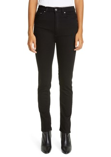 Totême New Standard High Waist Skinny Jeans (Stay Black)
