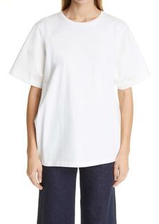 Totême Oversize Organic Cotton T-Shirt