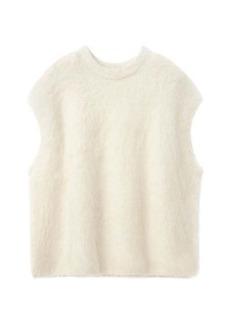Totême Sleeveless alpaca-blend sweater