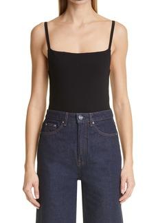Totême Slim Strap Jersey Bodysuit