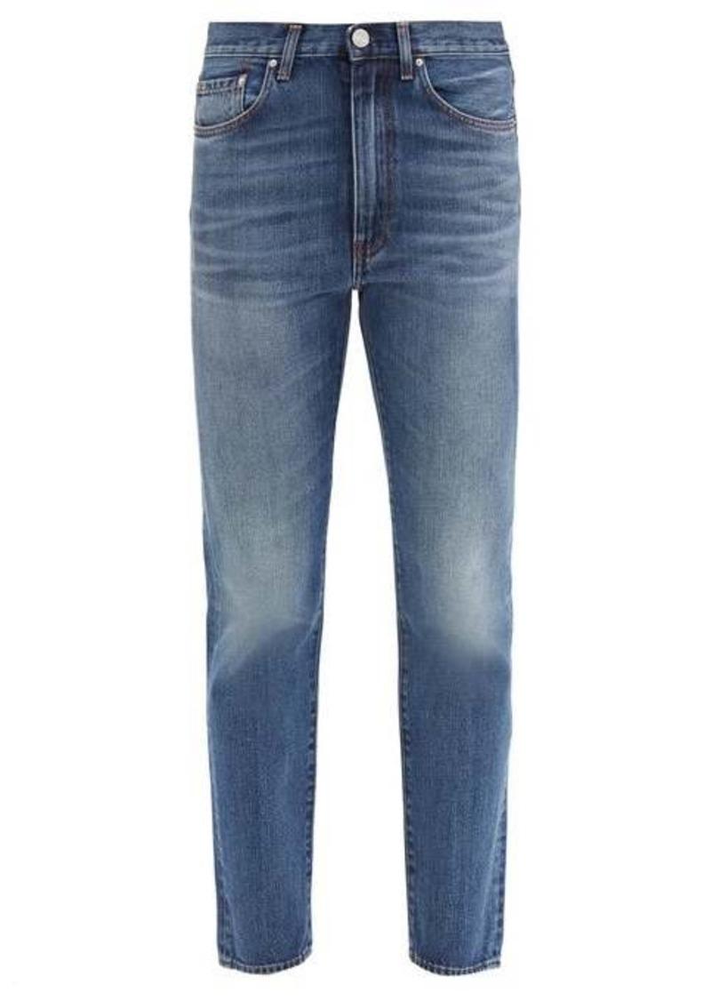 Totême Studio cropped straight-leg jeans