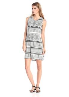 Townsen Women's Geo Ethnic Jersey Tank Dress