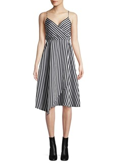 Tracy Reese Asymmetric Slip Dress