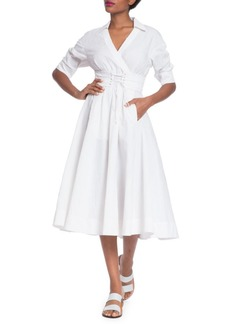 Tracy Reese Corset Shirt Dress