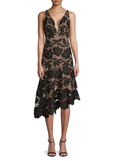 Tracy Reese Lace Asymmetrical Hem
