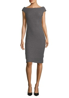 Tracy Reese Cap Sleeve Sweater Dress