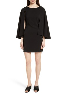 Tracy Reese Cape Shift Dress