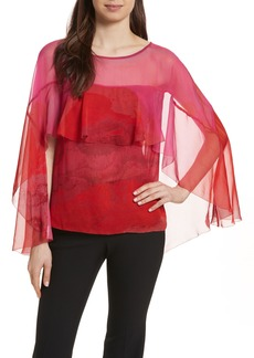 Tracy Reese Cascade Silk Top