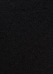 Tracy Reese Cross Back Cloque Knit Sheath Dress