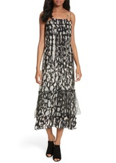 Tracy Reese Double Layer Silk Slipdress