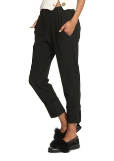 Tracy Reese Elasticized Straight Pants