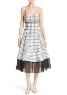 Tracy Reese Fit & Flare Dress