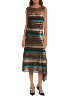 Tracy Reese Flange Midi Dress