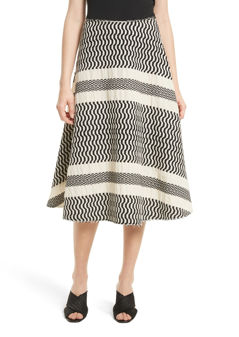 Tracy Reese Flared Skirt