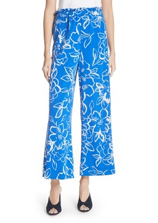 Tracy Reese Floral Crop Pants