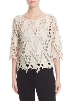 Tracy Reese Guipure Lace Top