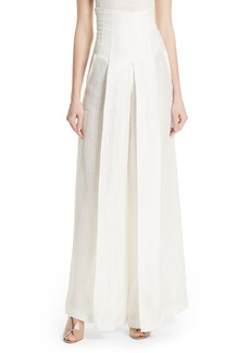 Tracy Reese High Waist Wide Leg Pants