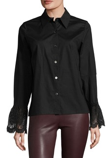 Tracy Reese Lace Cuff Shirt