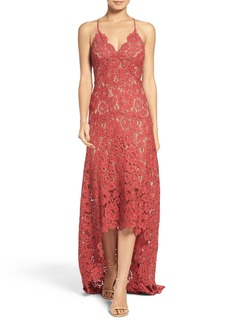 Tracy Reese Lace High/Low Gown