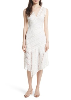 Tracy Reese Lace Midi Dress