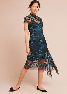 Tracy Reese Lace Overlay Dress