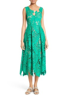 Tracy Reese Leaf Lace Frock