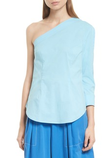 Tracy Reese One-Shoulder Top