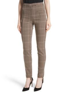 Tracy Reese Plaid Stirrup Pants
