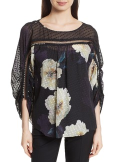 Tracy Reese Silk Blossom Blouse