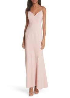 Tracy Reese Slit Maxi Slipdress