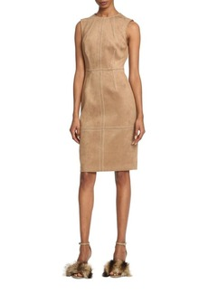 Tracy Reese Suede Dress