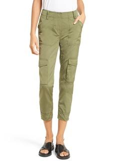 Tracy Reese Tech Taffeta Cargo Pants