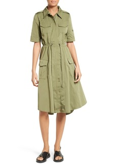 Tracy Reese Tech Taffeta Shirtdress