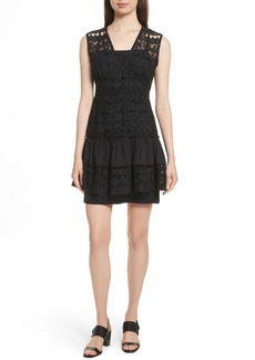 Tracy Reese Tiered Minidress